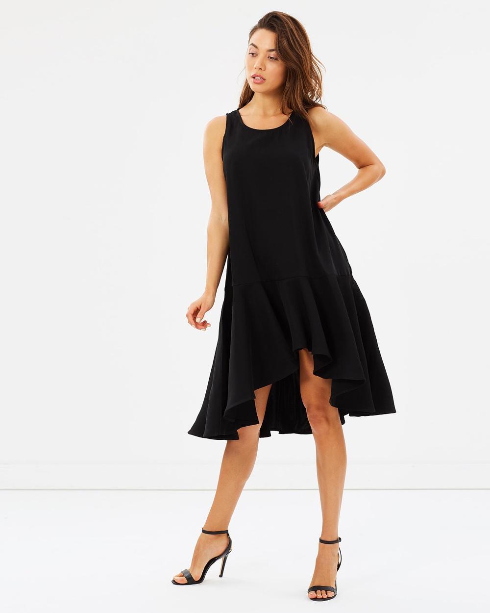 Mossman The Memory Remains Dress Dresses Black The Memory Remains Dress
