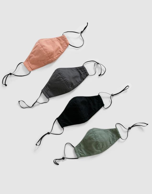 Men Face Masks - 4 Pack
