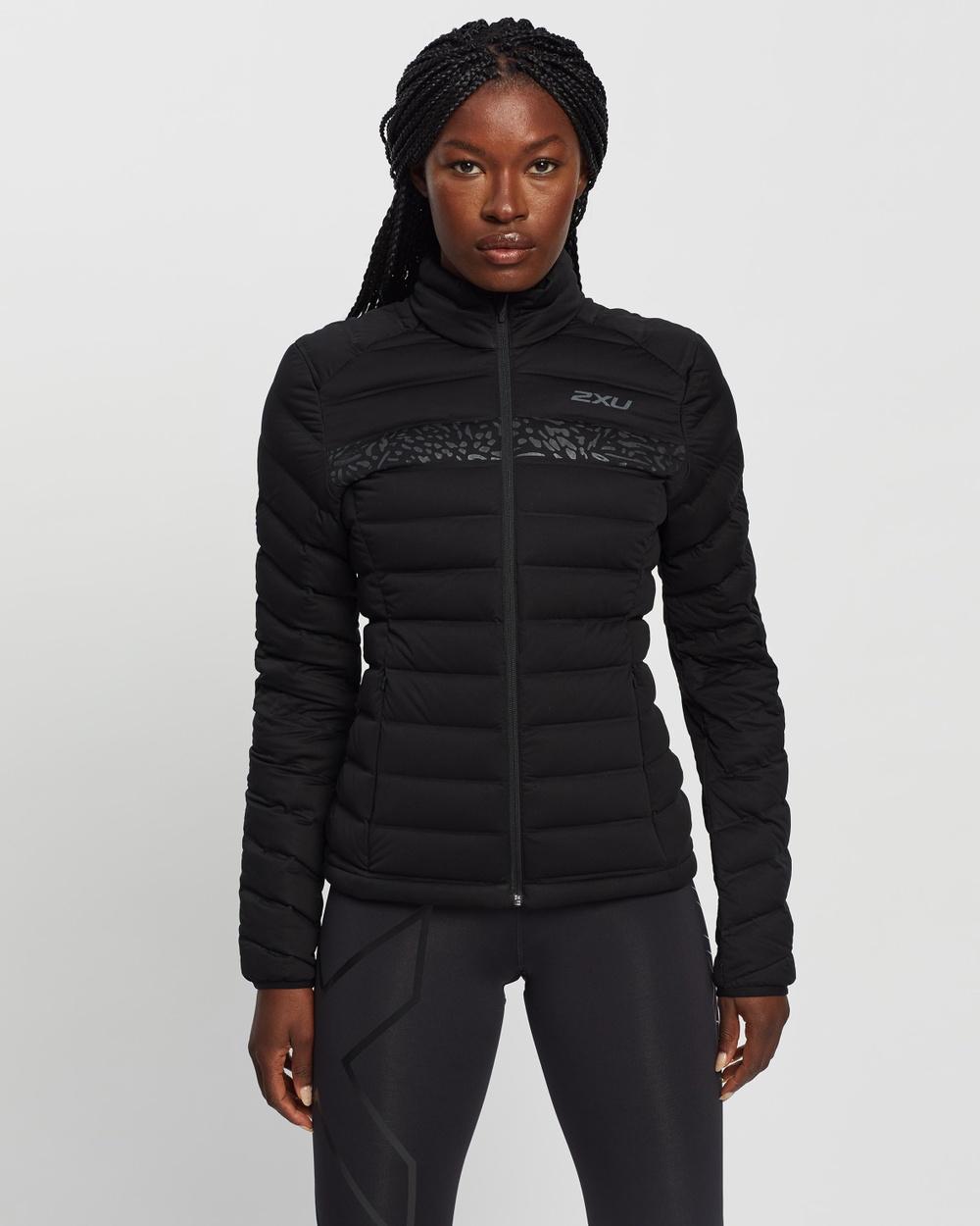 2XU Ignition Insulation Jacket Coats & Jackets Black Black Reflective