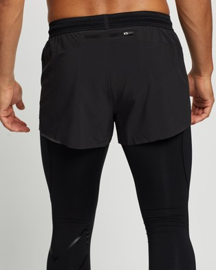 2XU Light Speed 3 Running Shorts Black & Reflective