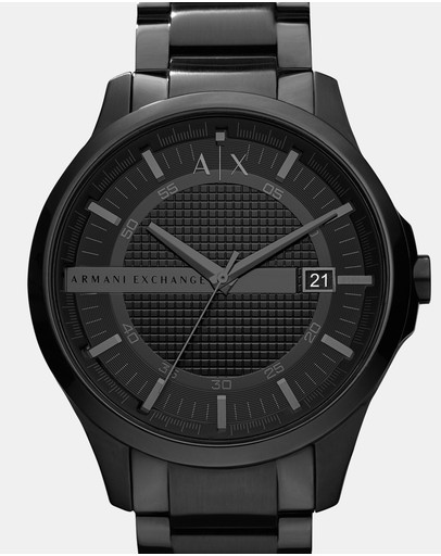 Armani Exchange - Black Analogue Watch