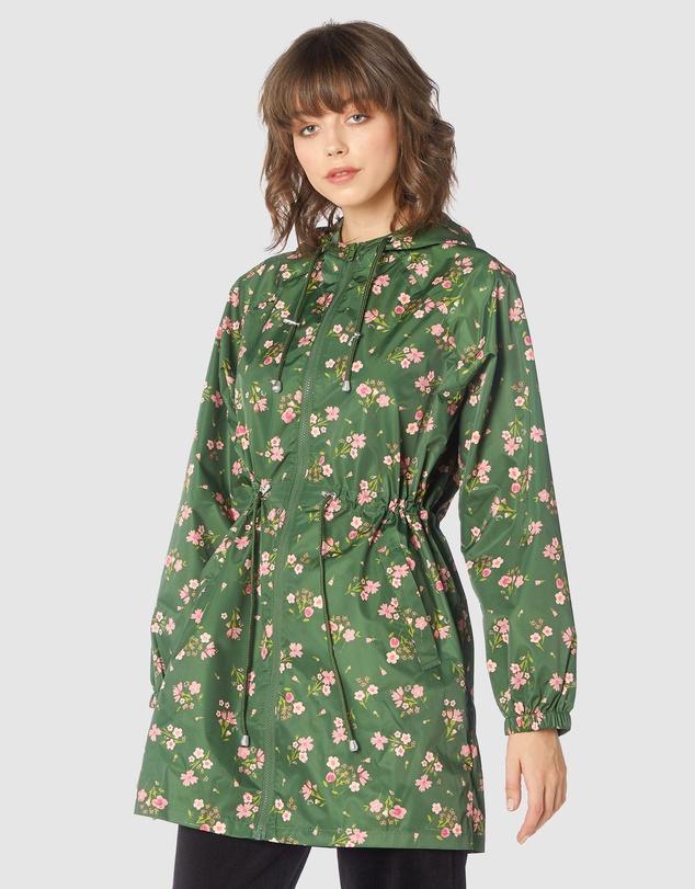 Women Ondine Long Raincoat