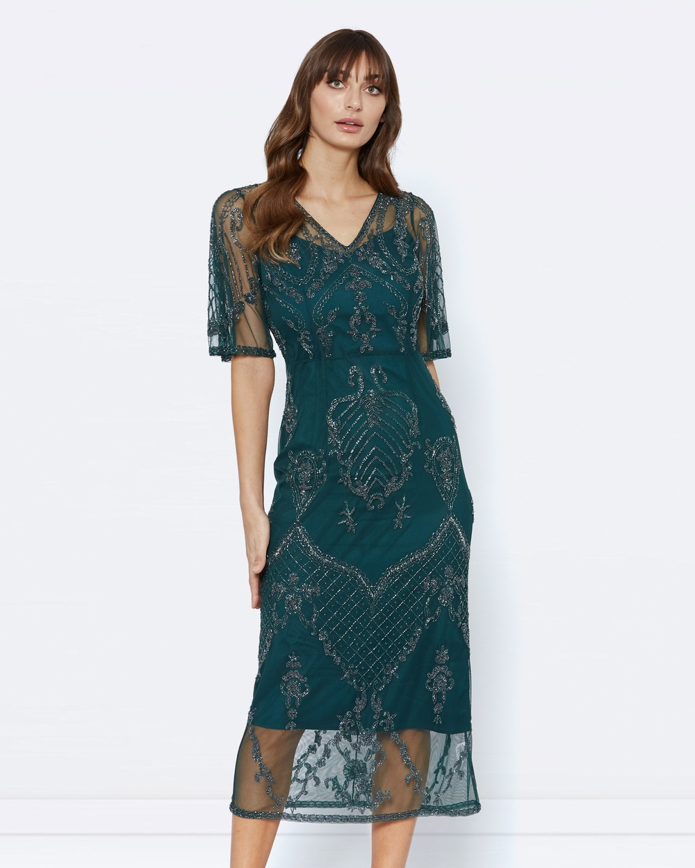 Alannah Hill Pandora Dreaming Dress Dresses Green Pandora Dreaming Dress