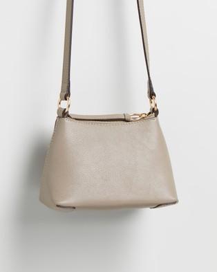 See By Chlo?? Joan Mini Hobo Cross Body Bag - Handbags (Motty Grey)