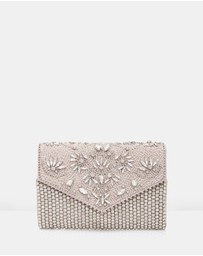 Forever New - Rhianna Embellished Clutch