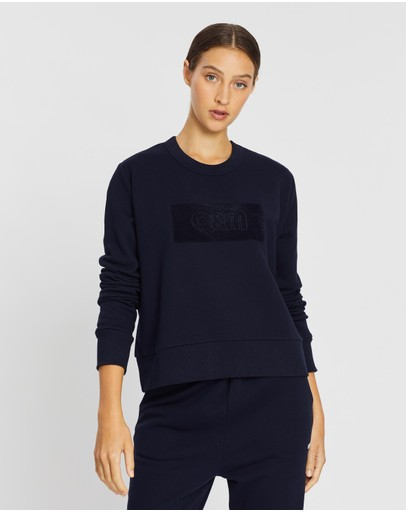 C&m Camilla And Marc Owens Crew Sweater Navy