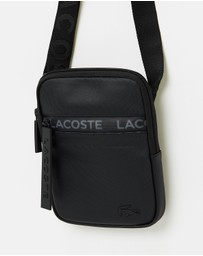 Lacoste - L1212 Medium Flat Xover Bag with Logo