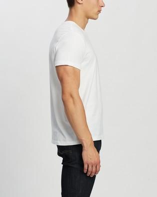 RRL Crew Neck Short Sleeve T Shirt - T-Shirts & Singlets (White)