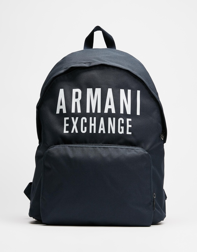 Armani Exchange - Logo Backpack - Men's