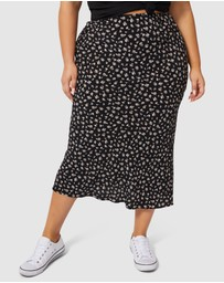 Sunday In The City - Despacito Midi Skirt