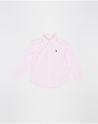 Polo Ralph Lauren - Long Sleeve Button-Down Shirt - Kids