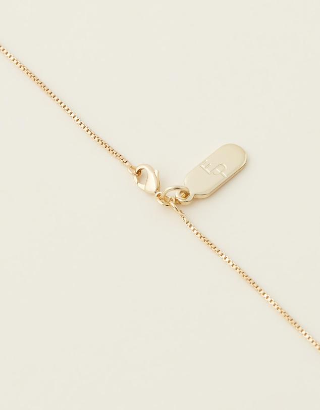 Women Letter E Enamel Initial Necklace