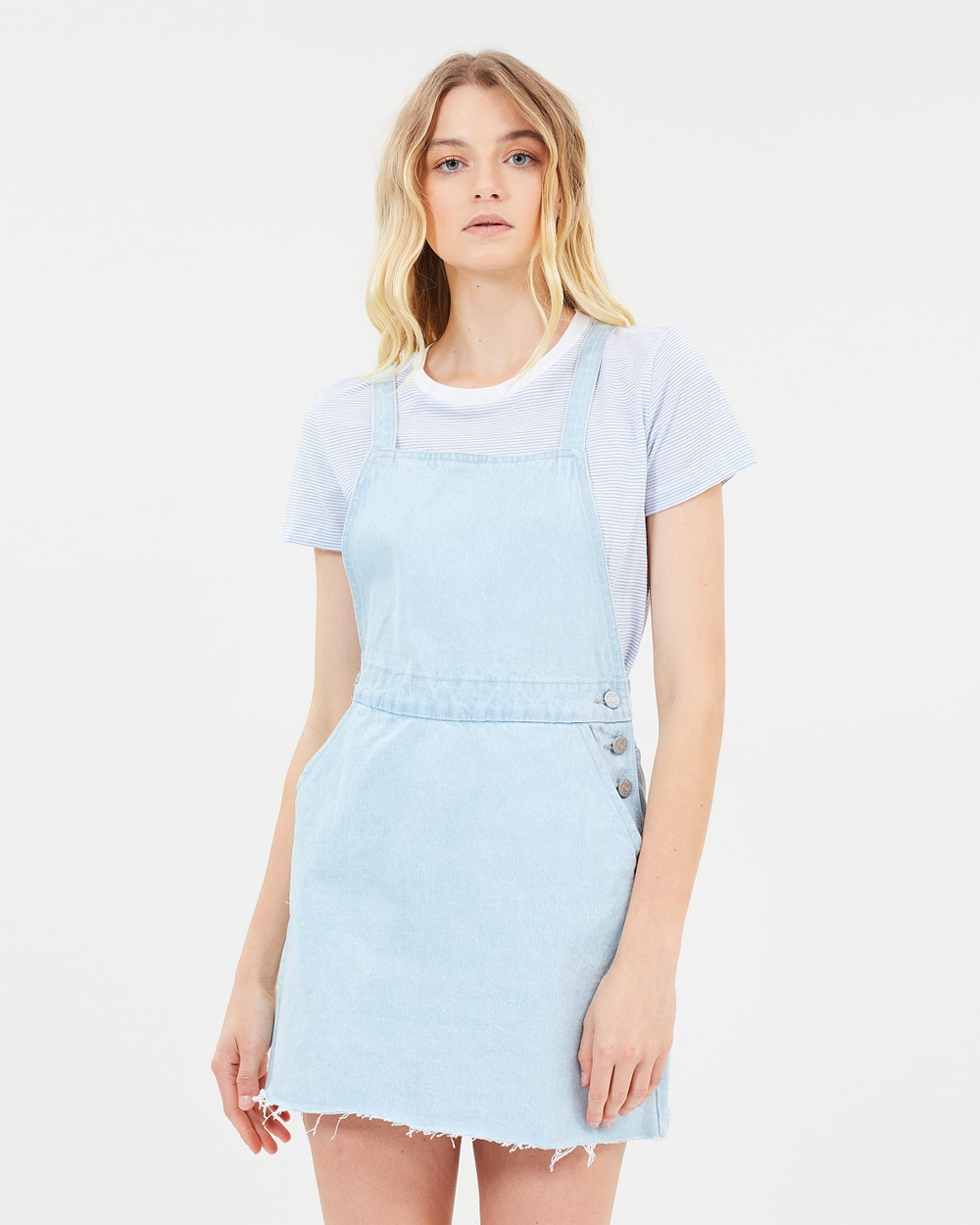 Nude Lucy Sunbleached Munro Denim Dress