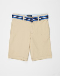 Polo Ralph Lauren - Short Stretch Tissue Chino Polo Shorts - Kids 5-7 Years