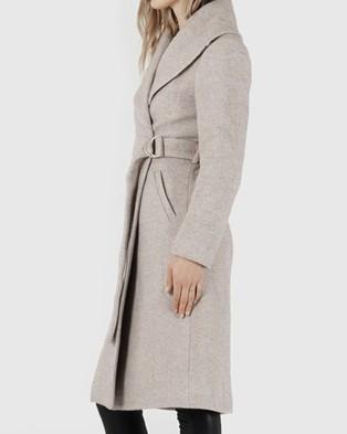 Amelius Briony Wool Coat - Coats & Jackets (Beige)