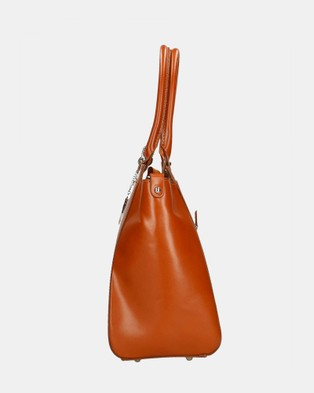 Lux Haide Charm Shoulder Bag - Handbags (Tan)