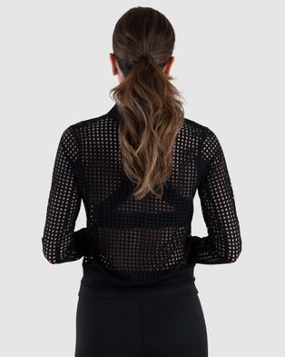 EN GARDE Apparel EG Edition Noir Net - Coats & Jackets (Black)