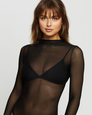Ann Summers Belize Body - Lingerie (Black)