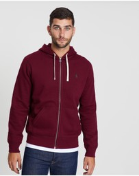 Classic Athletic Fleece Hoodie