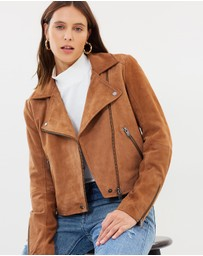 Peaches Suede Jacket