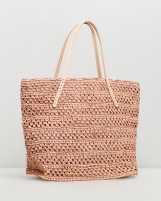 Sans Arcidet Paris - Beby Bag Cuir Small - Handbags (Rose Poudre) Beby Bag Cuir Small