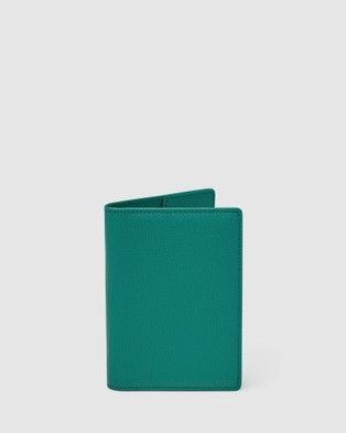 Kinnon Earle Passport Holder - Travel and Luggage (Avocado)