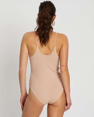 adidas Originals Bodysuit - Tops (Ash Pearl)