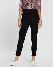Angel Maternity - Over The Belly Slim Crop Pants