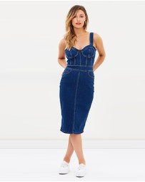 Bardot - Stella Denim Dress