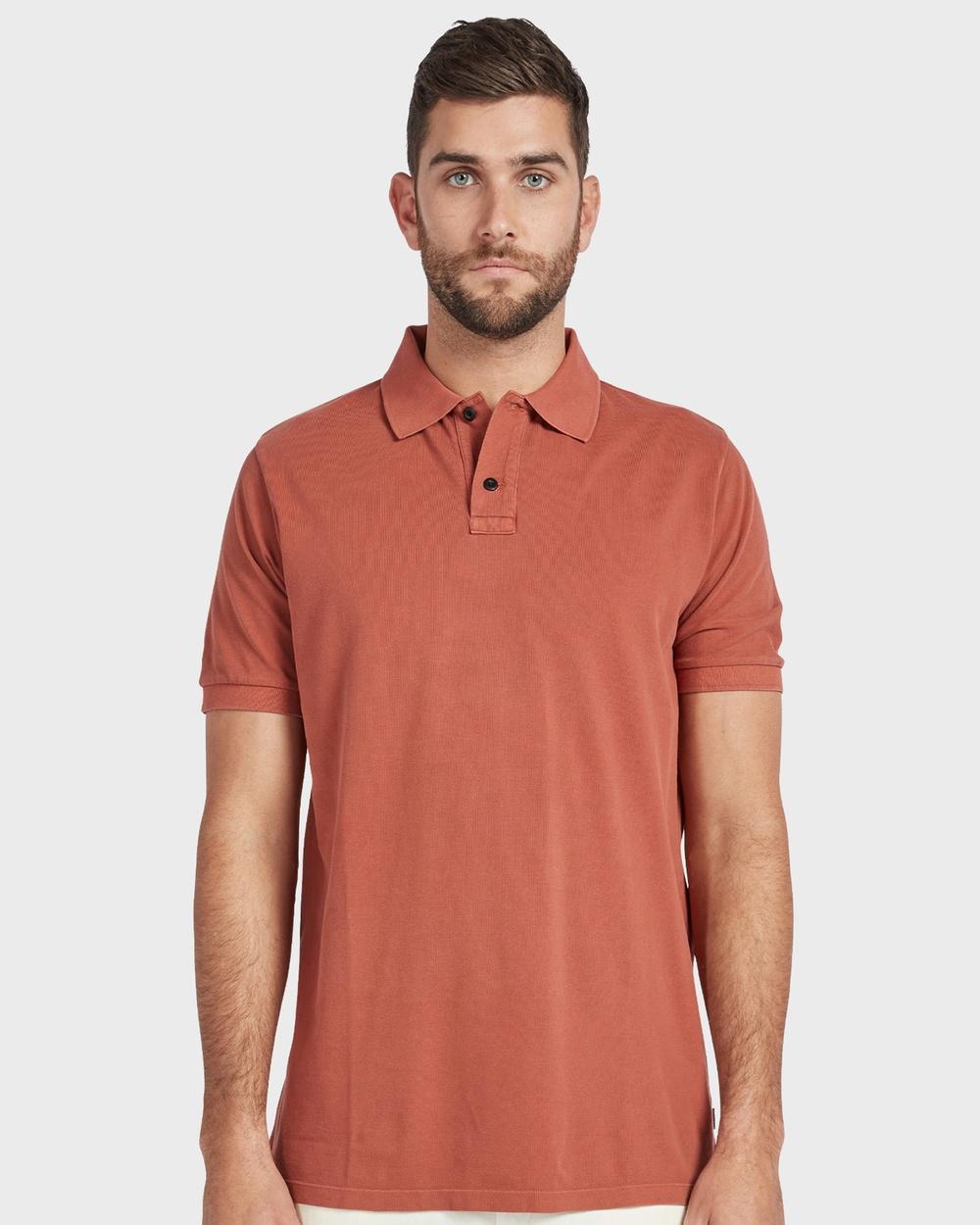 Academy Brand Polo Shirts & Polos Orange