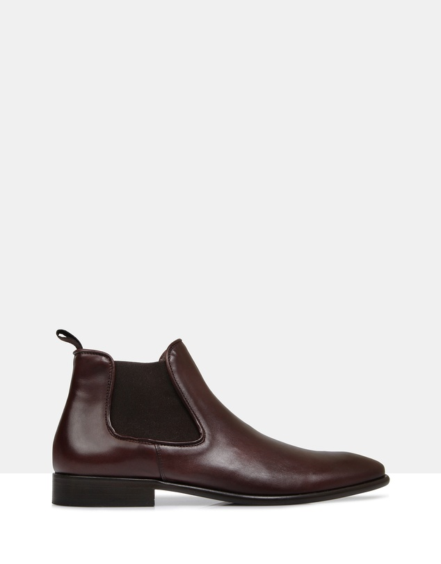 Brando - Larson Leather Chelsea Boots