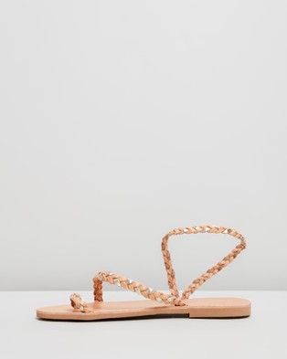 Ammos Clio Sandals - Sandals (Tan & Gold)