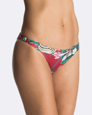 Roxy – Womens Cuba Gang Mini Separate Bikini Pant SALSA HAVANA FLOWER