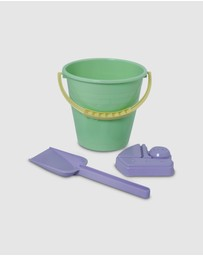Plasto - I Am Green Bucket - 3-Piece Set - Kids