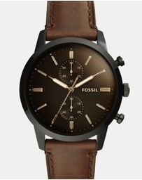 Fossil - Townsman Brown Chronograph Watch