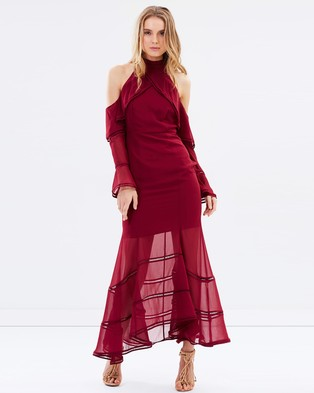 Keepsake the Label – Lovers Holiday Gown Plum