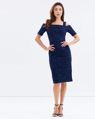 Dorothy Perkins – Lace Scuba Pencil Dress
