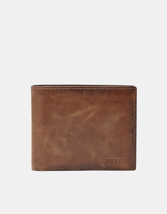 Fossil - Derrick Brown RFID Large Coin Pocket Bifold