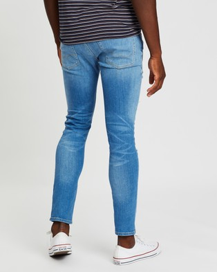 Jack & Jones Liam Original Skinny Fit Jeans - Jeans (Blue Denim)