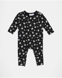 Cotton On Baby - The Long Sleeve Snap Romper - Babies