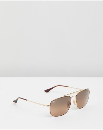 Ray-ban The Colonel Rb3560 Havana & Brown Gradient Grey