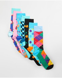 Happy Socks - 7 Days Gift Box - 7-Pack