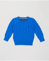 Polo Ralph Lauren - Long Sleeve Cable Sweater - Kids