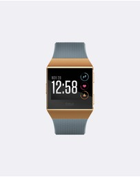 Fitbit - Fitbit Ionic Blue/Orange
