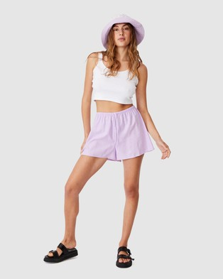 Cotton On Cali Pull On Shorts - Shorts (Frosty Lilac)