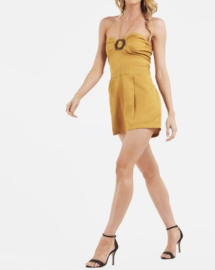 Amelius Shelby Playsuit - Jumpsuits & Playsuits (yellow)