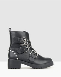 Betts - Berlin Embellished Combat Boots