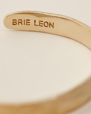 Brie Leon Organica Cuff  - Jewellery (Brass)