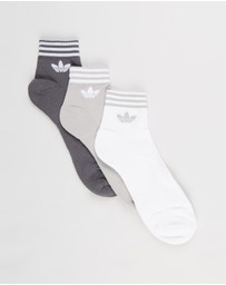 adidas Originals - Trefoil Ankle Socks 3-Pack - Unisex