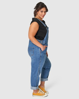 Indigo Tonic Hailey Denim Overalls - Jumpsuits & Playsuits (blue)